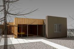 Štúdia stavby rodinného domu VI 01