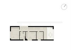 Projekt stavby rodinného domu V 17
