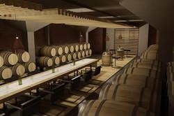 Interiér vínnej pivnice Pezinok 05