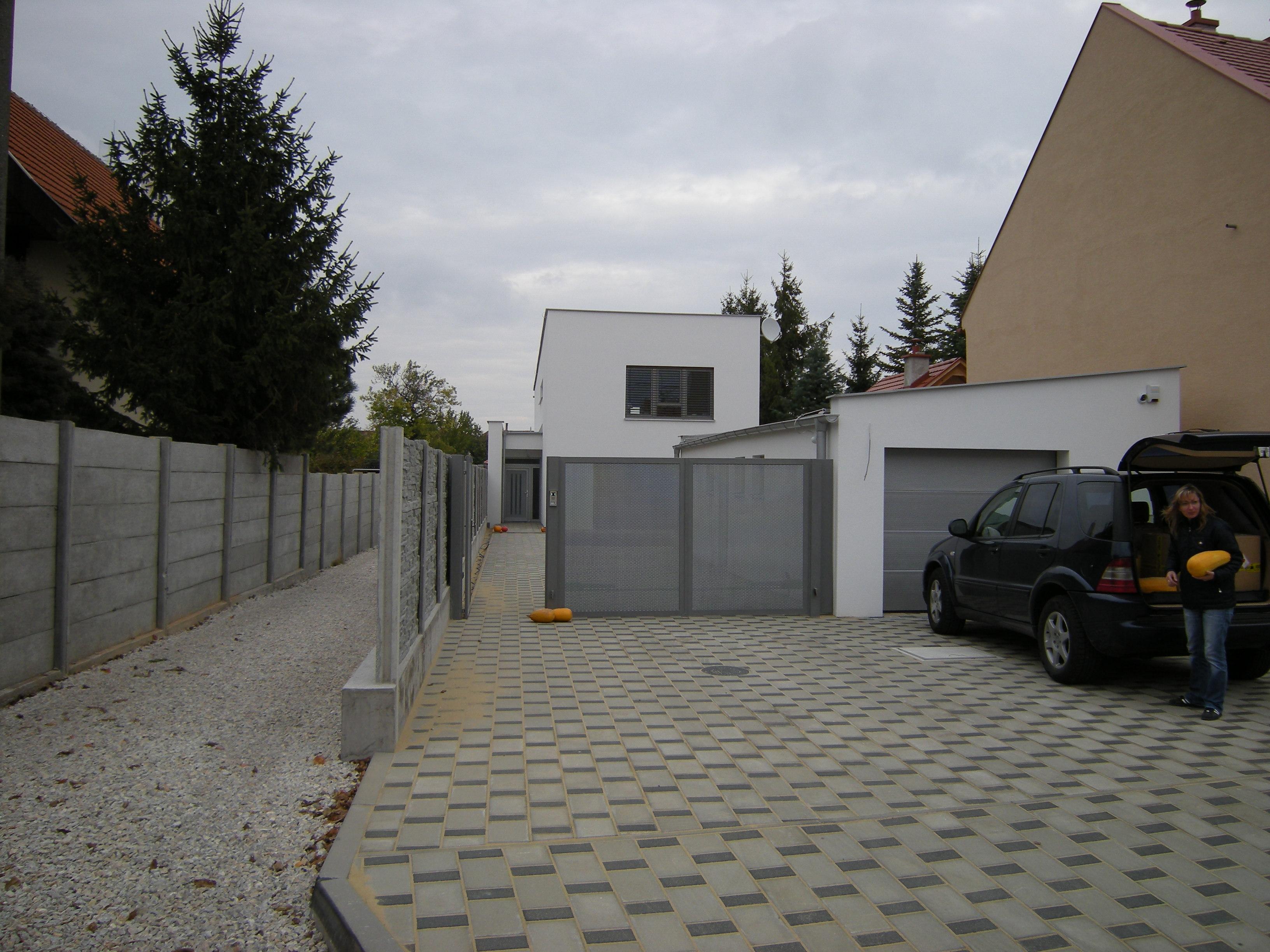 Projekt stavby rodinného domu V 01