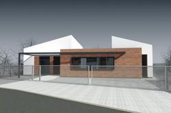 Projekt stavby rodinného domu IX 08