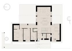Projekt stavby rodinného domu IV 08