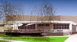Projekt terasy kaviarne Šaľa 10