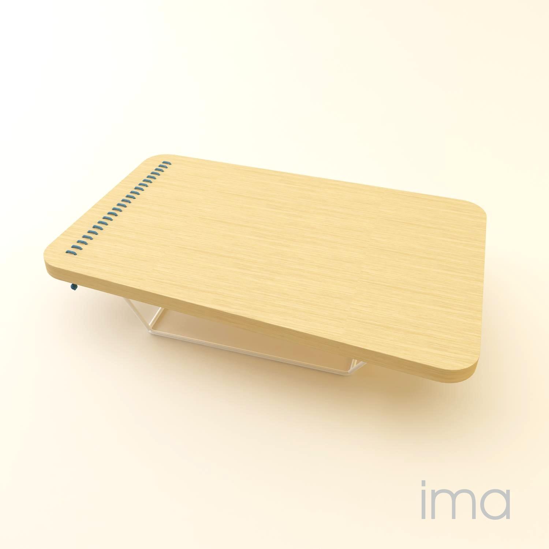 Dizajn stolíka Prešívanec 02