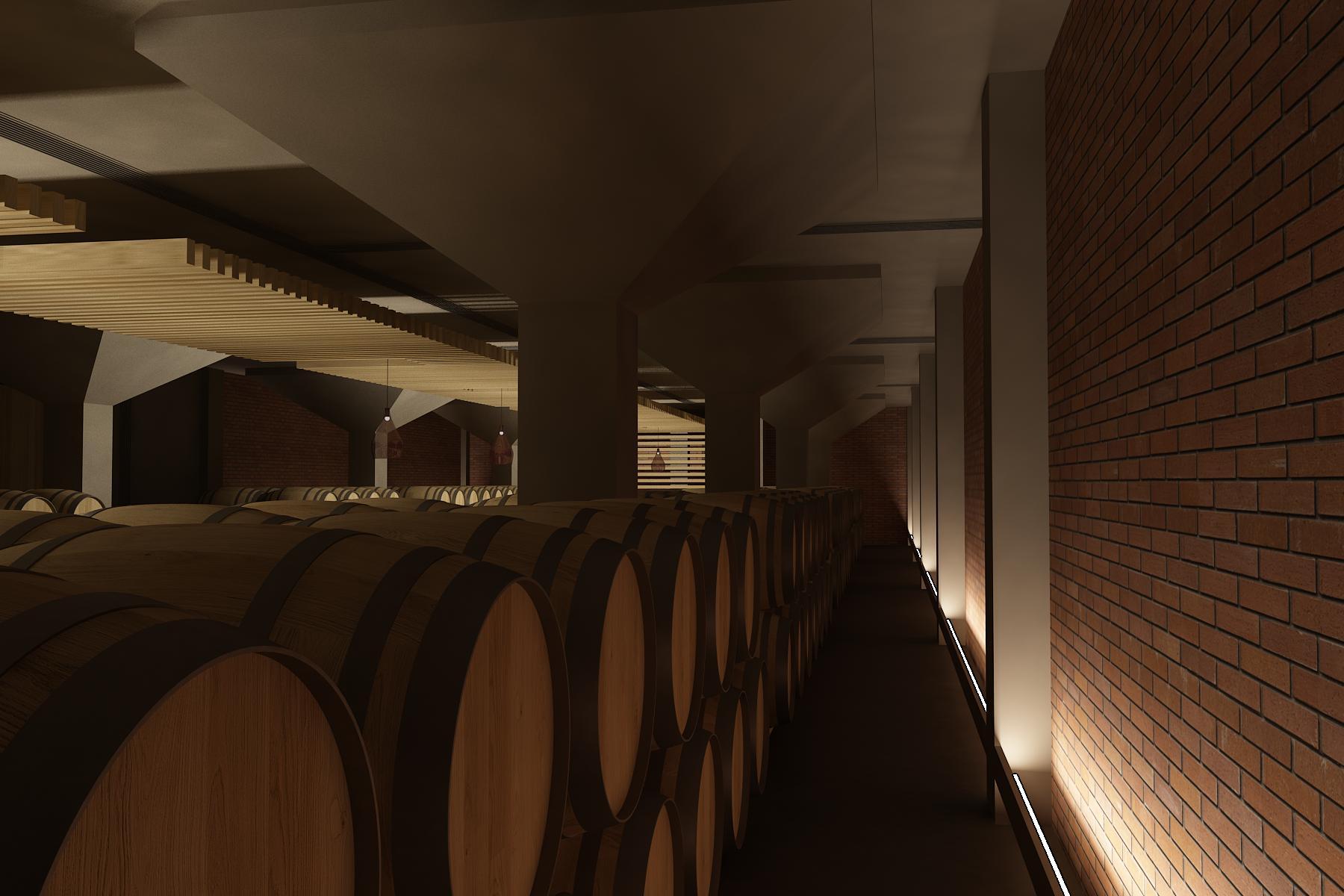 Interiér vínnej pivnice Pezinok 03