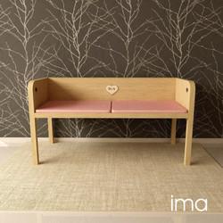 Návrh dizajnu lavice Láskavec 02