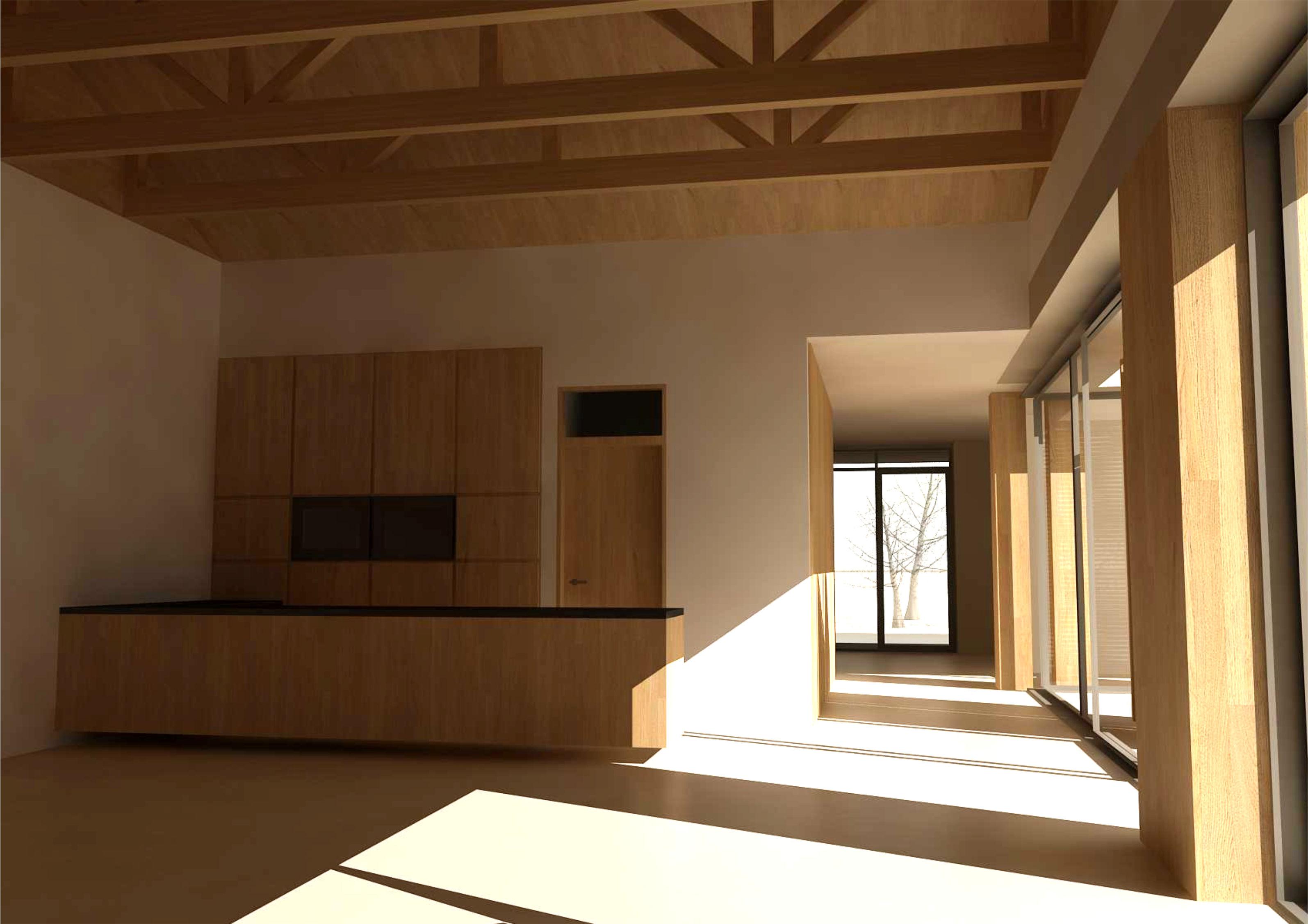 Projekt stavby rodinného domu VII 07