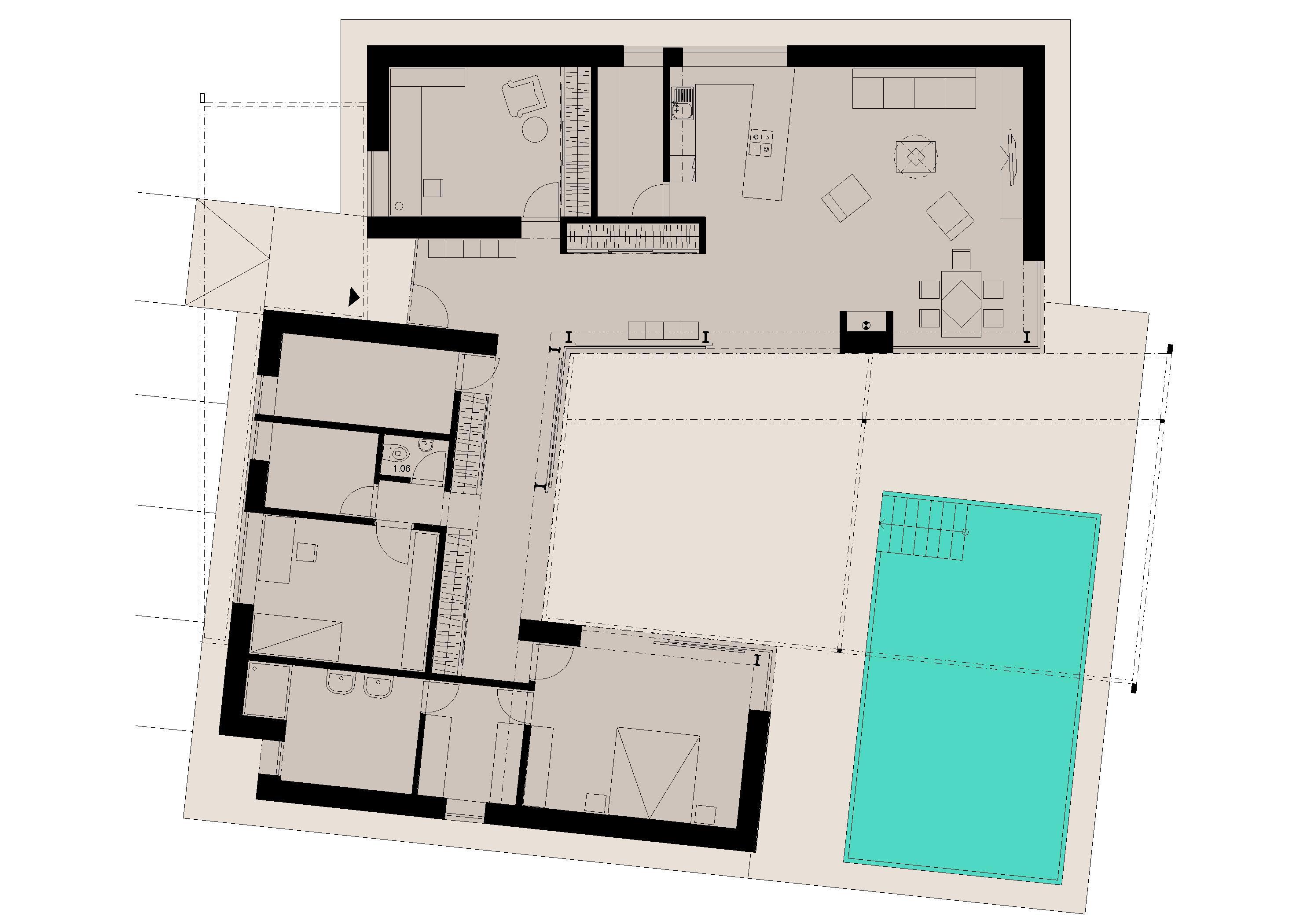 Projekt stavby rodinného domu IX 10