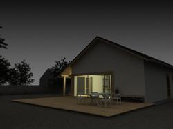 Projekt stavby rodinného domu III 06