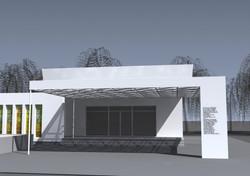 Projekt domu smútku Bánov 04