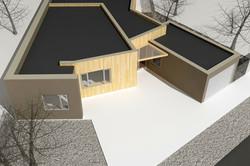 Štúdia stavby rodinného domu VI 07