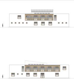 Štúdia stavby penziónu Square 10