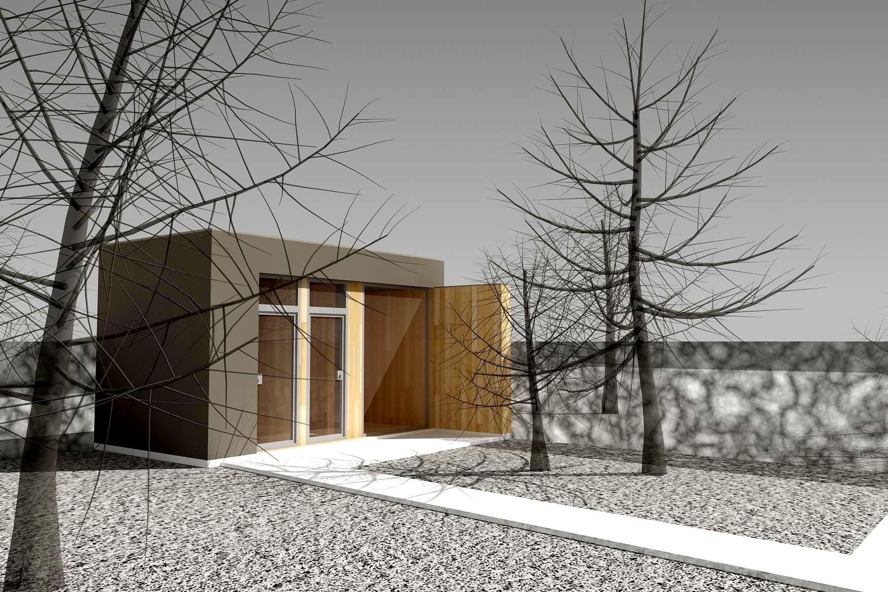 Štúdia stavby rodinného domu VI 08