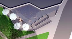 Projekt terasy kaviarne Šaľa 08