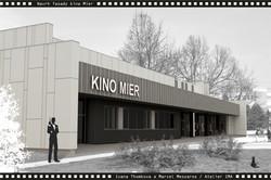 Projekt fasády kina Mier NZ 03