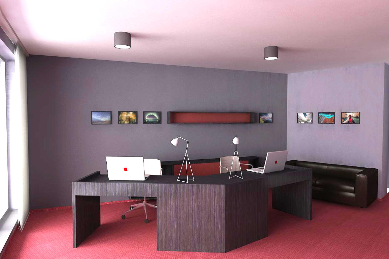 Návrh interiéru kancelárie 03