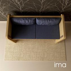 Návrh dizajnu lavice Prešívanec 04