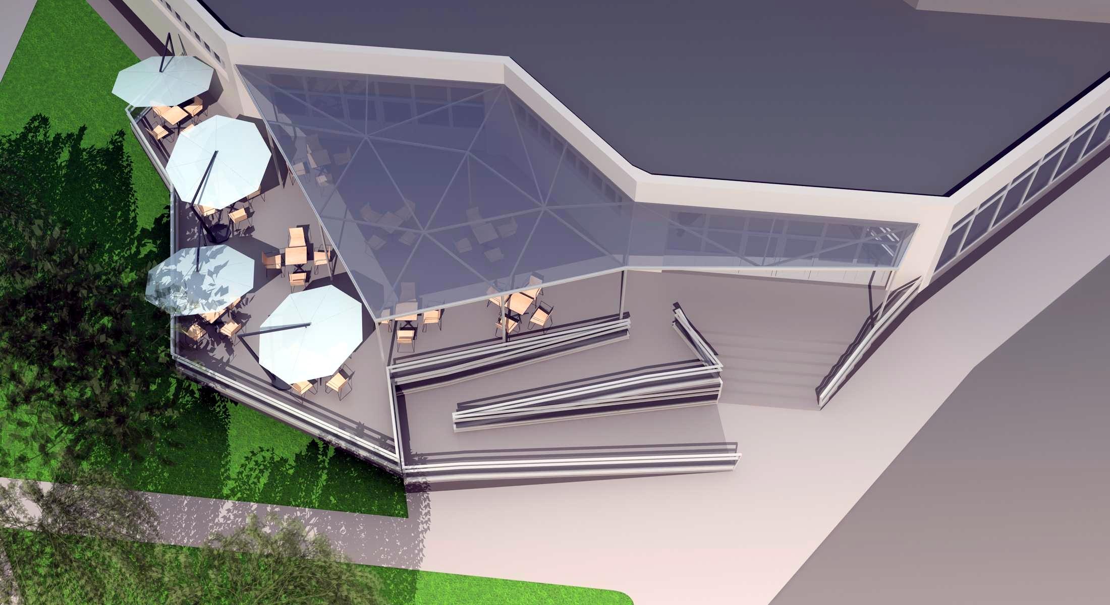 Projekt terasy kaviarne Šaľa 09