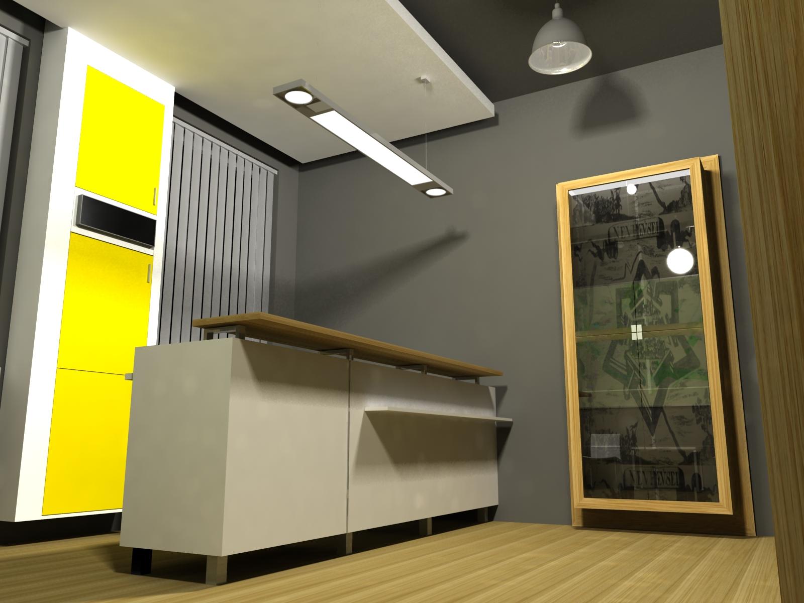 Projekt interiéru info centra NZ 10