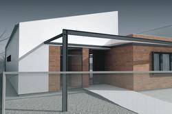 Projekt stavby rodinného domu IX 02
