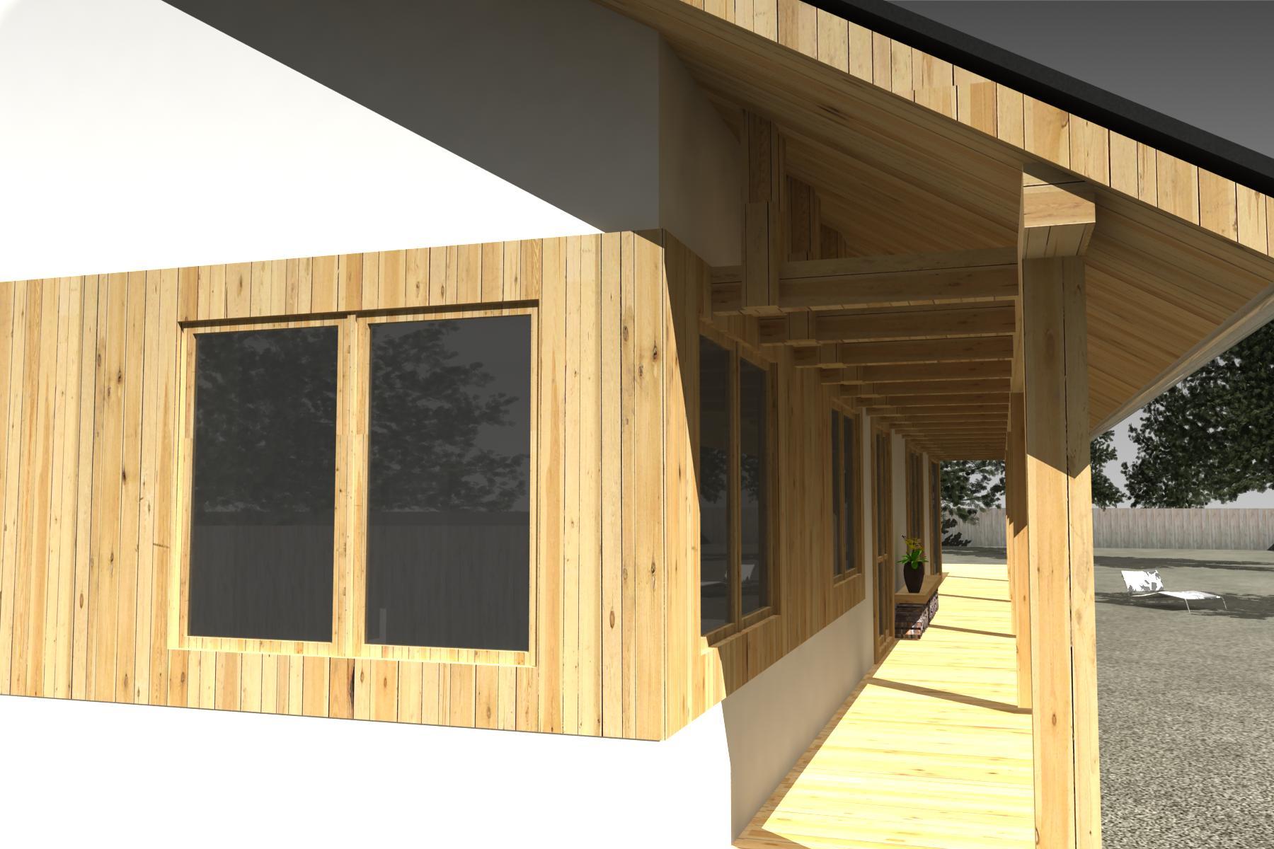 Projekt stavby rodinného domu III 02