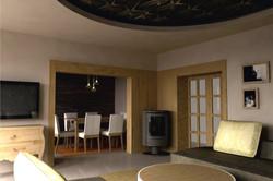 Projekt interiéru RD II 01