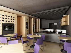 Projekt interiéru vinotéky NZ 03