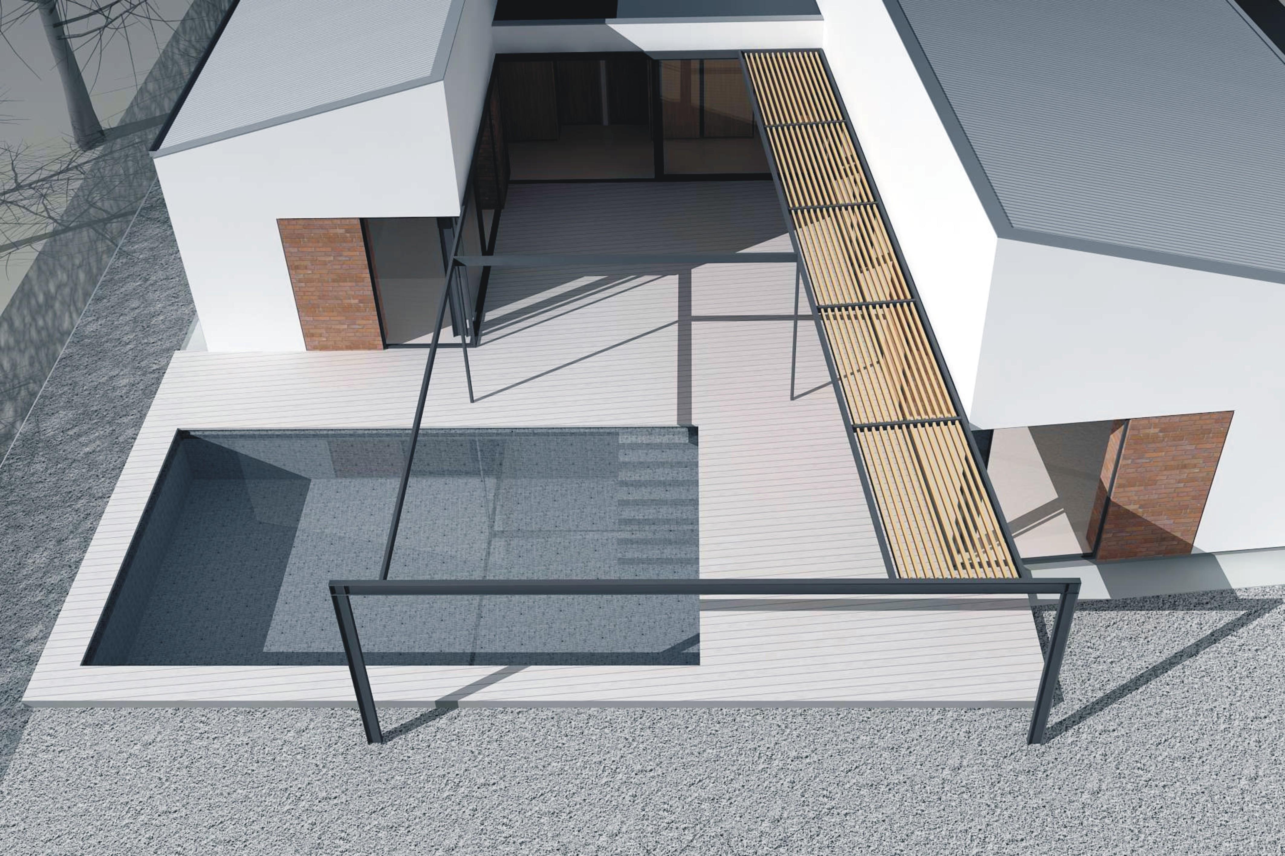 Projekt stavby rodinného domu IX 07