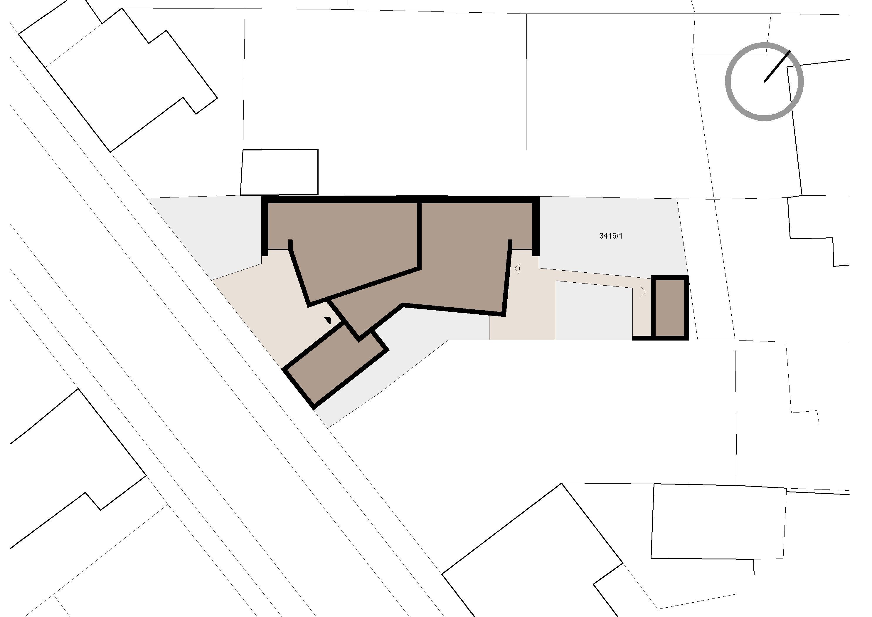 Štúdia stavby rodinného domu VI 09