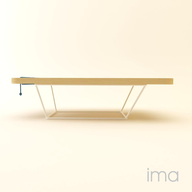 Dizajn stolíka Prešívanec 07