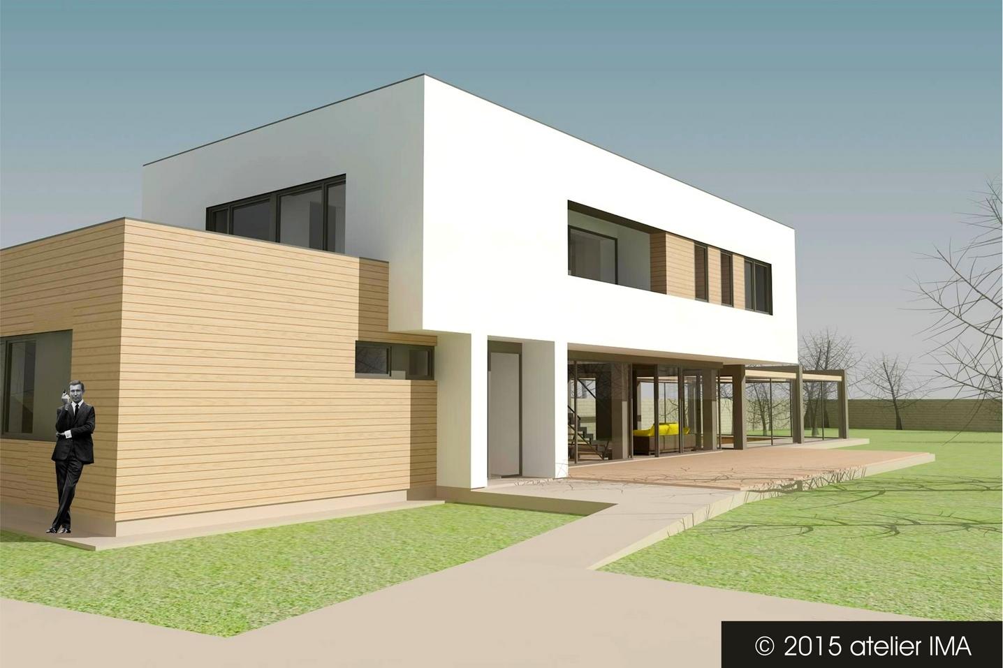 Projekt rodinného domu VIII 02