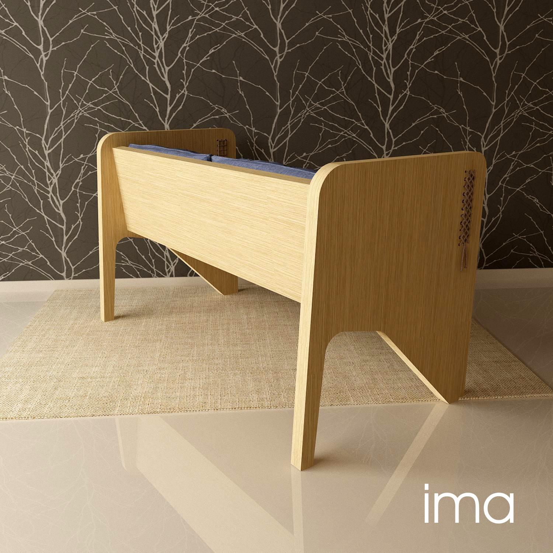 Návrh dizajnu lavice Prešívanec 05