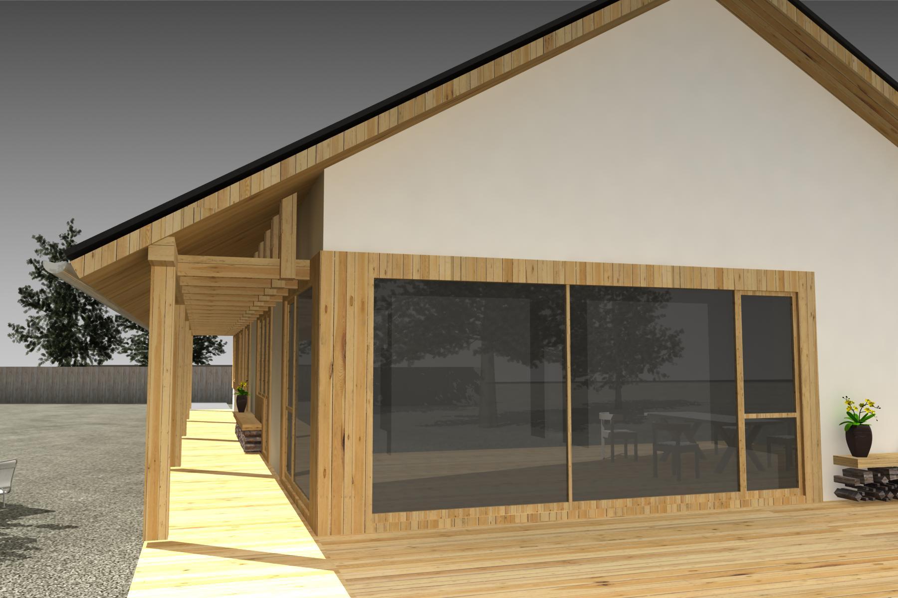 Projekt stavby rodinného domu III 04