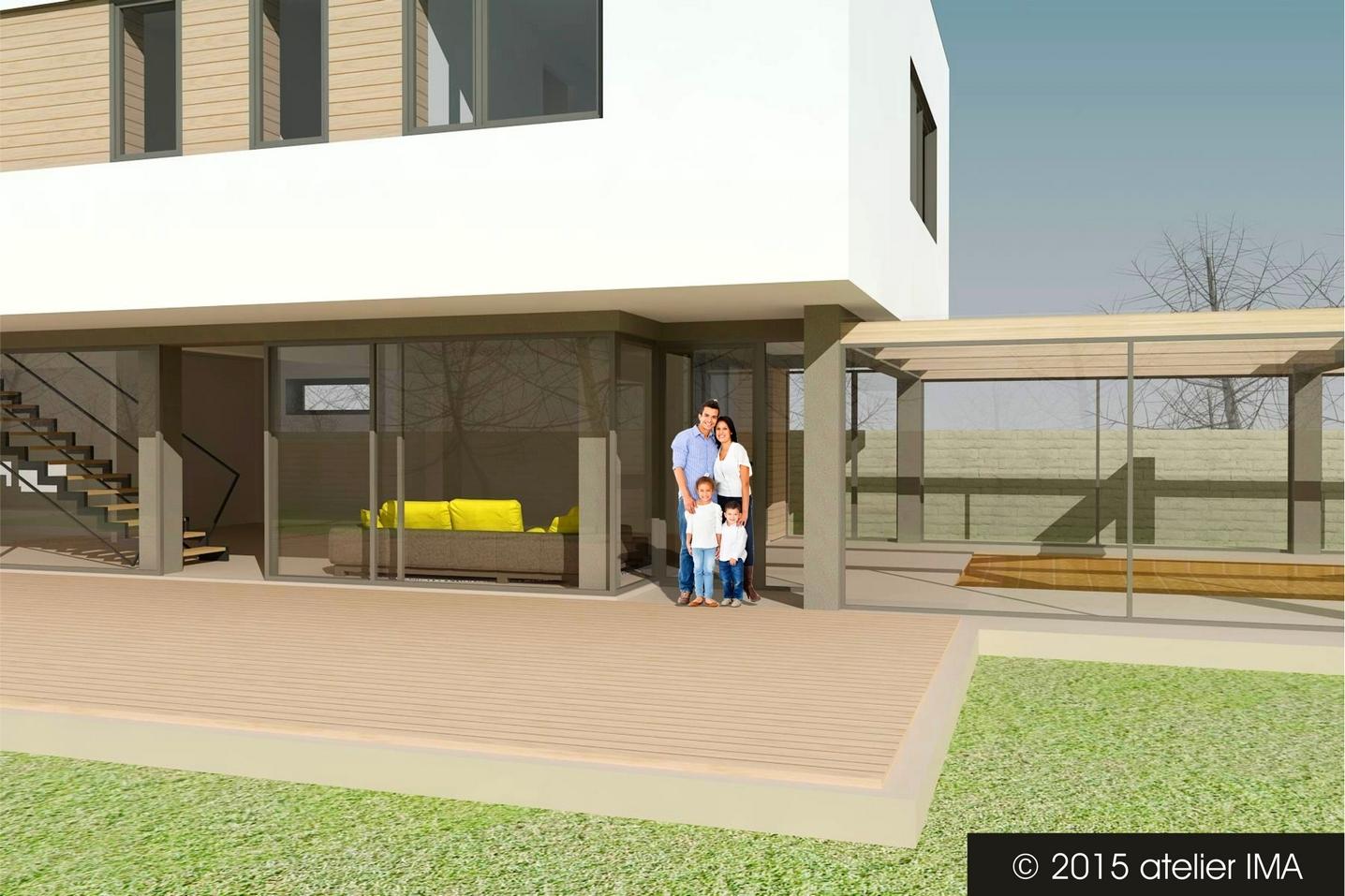 Projekt rodinného domu VIII 06