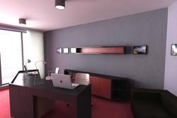 Návrh interiéru kancelárie 04