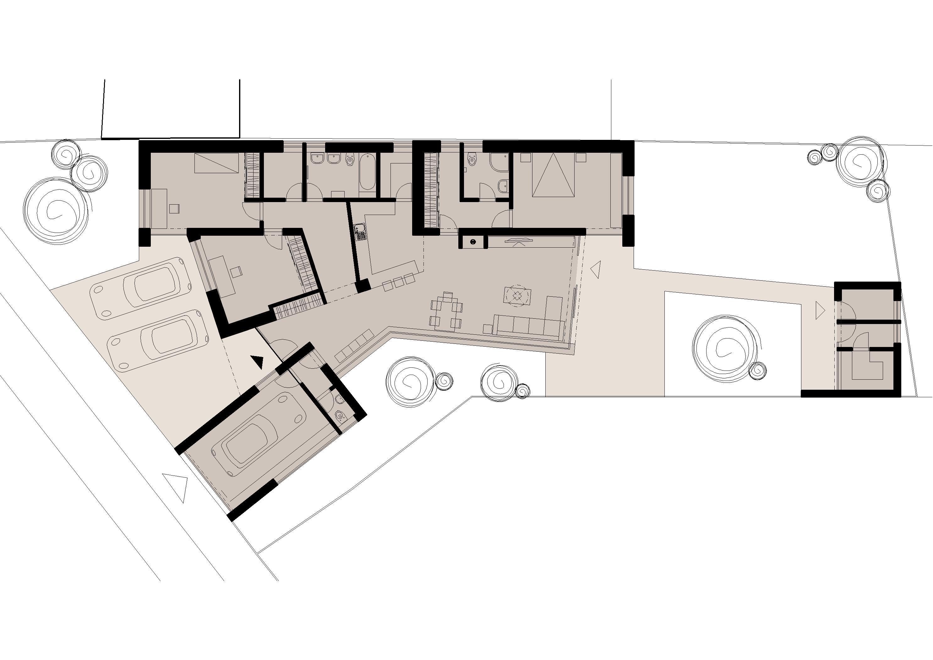 Štúdia stavby rodinného domu VI 10