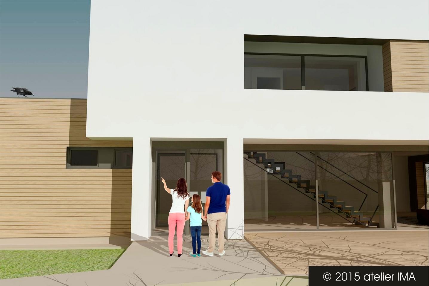 Projekt rodinného domu VIII 04