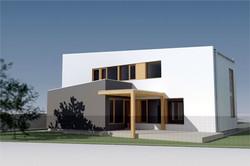 Projekt stavby rodinného domu IV 04