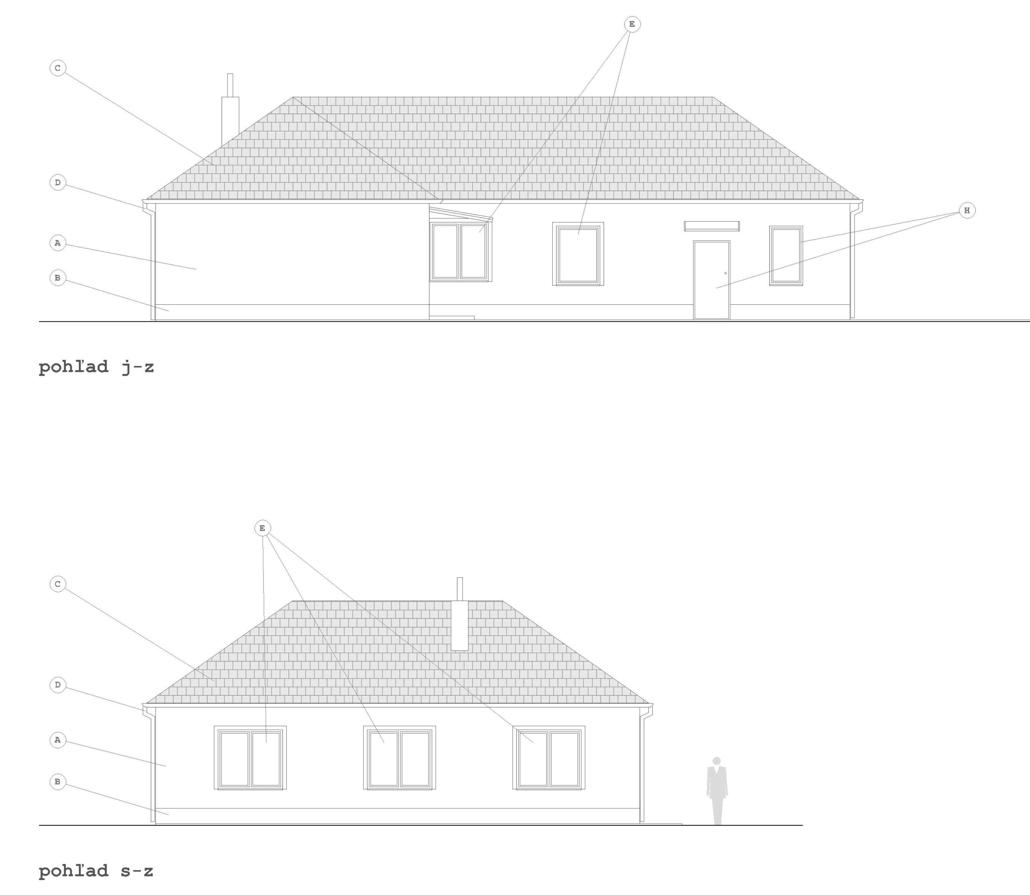 Projekt stavby rodinného domu I 10