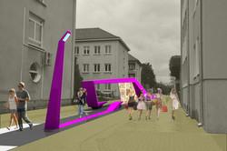 Štúdia mestské zásahy Nové Zámky 03
