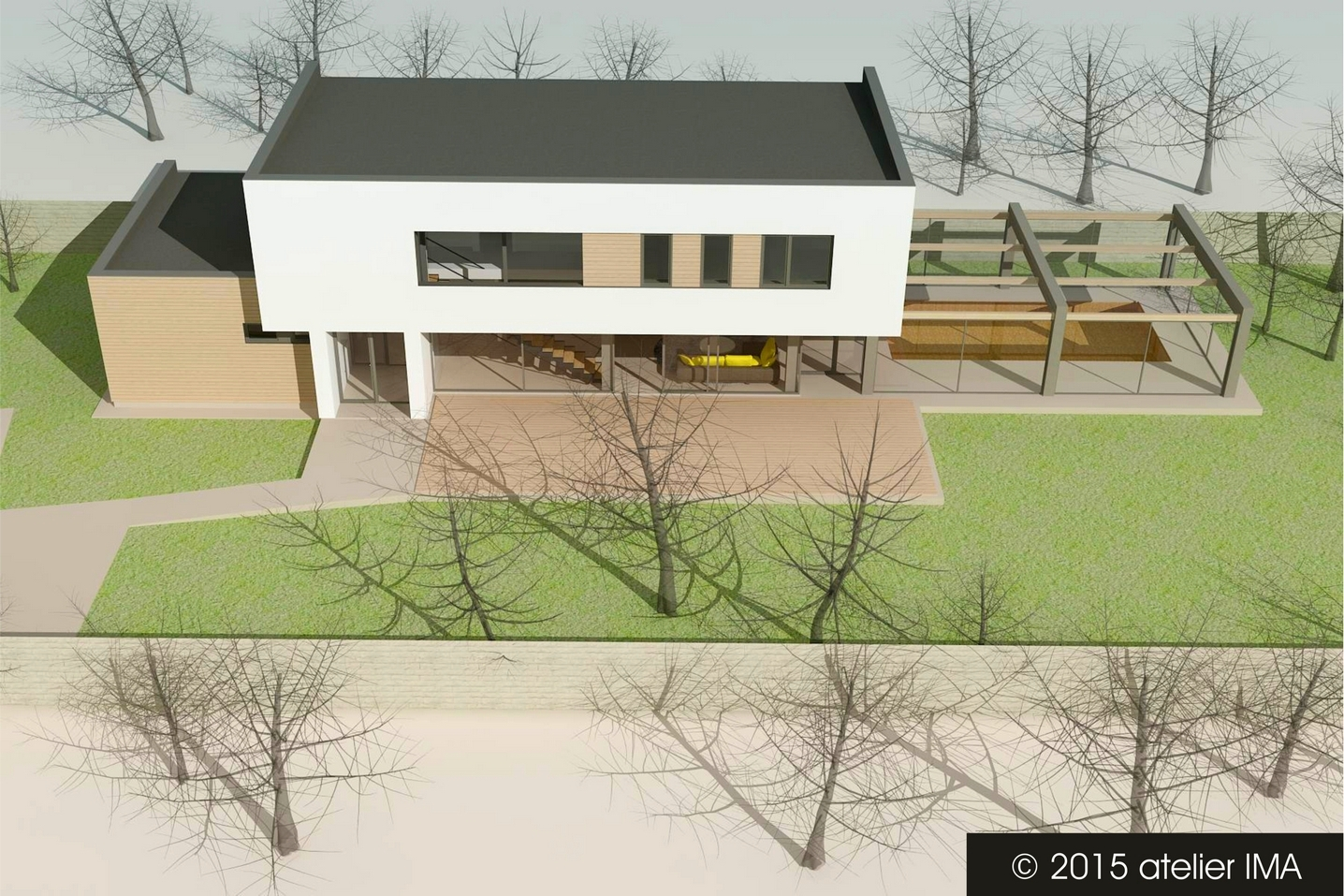 Projekt rodinného domu VIII 08