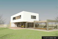 Projekt rodinného domu VIII 07