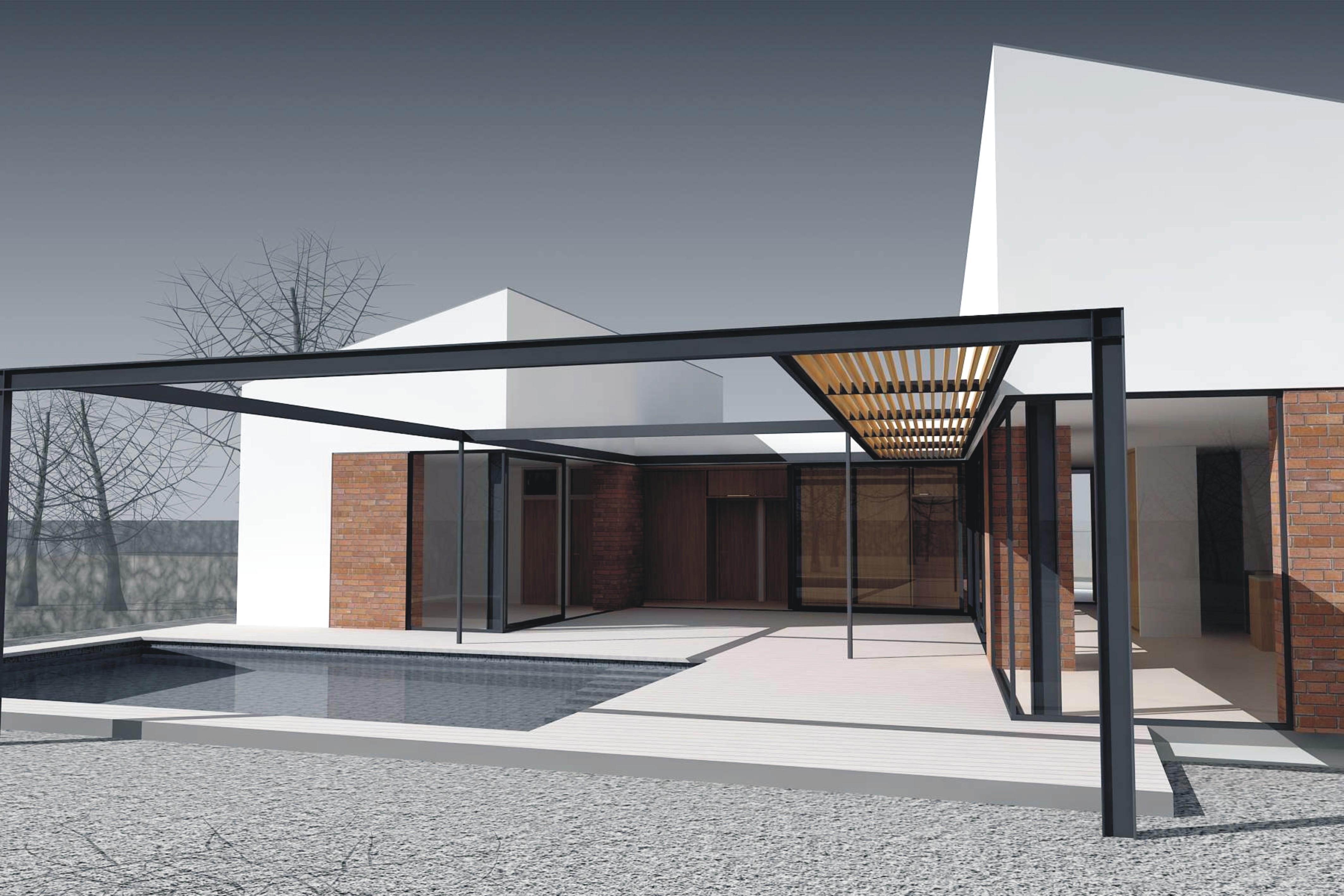 Projekt stavby rodinného domu IX 06