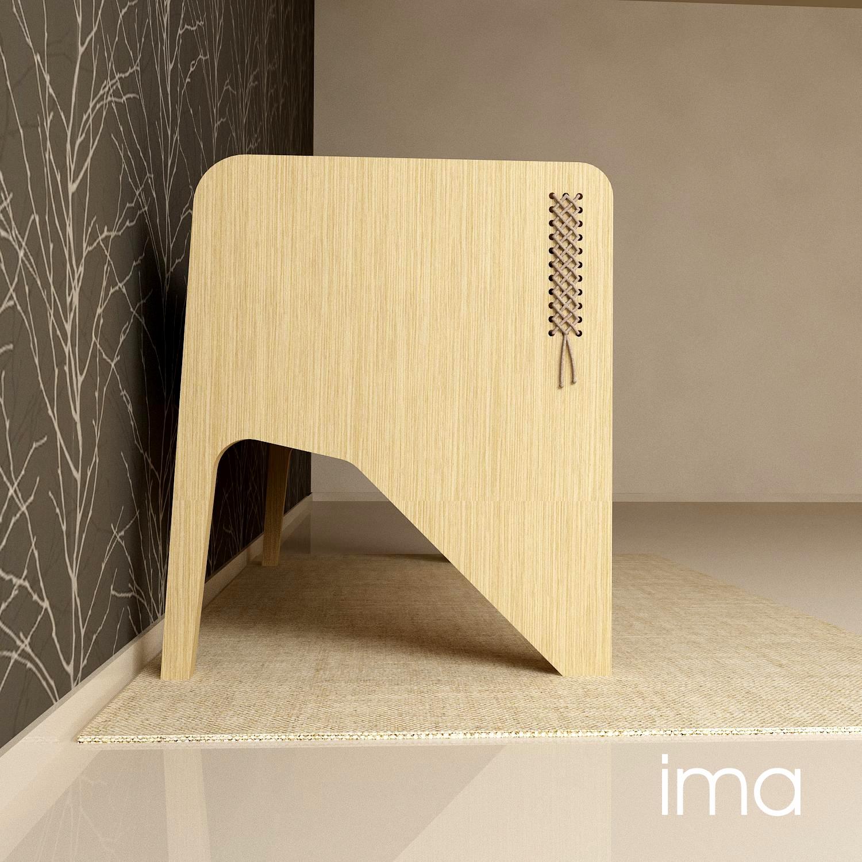 Návrh dizajnu lavice Prešívanec 01