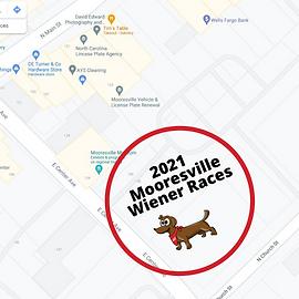 Downtown Mooresville Wiener Race Map