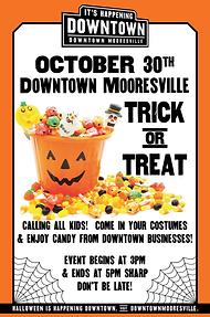 Downtown Mooresville 2020 Halloween
