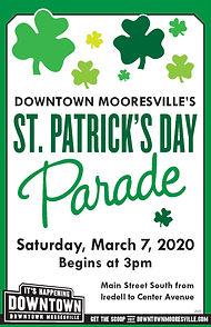 Saint Patricks Parade Downtown Mooresville
