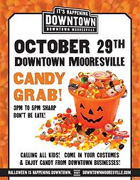 Downtown Mooresville Candy Grab