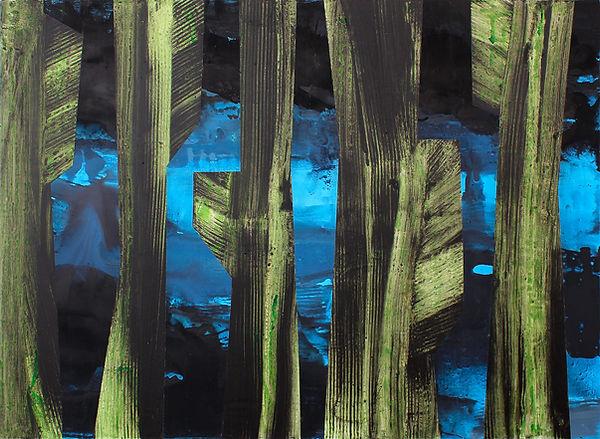 LCU#00230-Sans Titre Vert-bleu #2 130x95