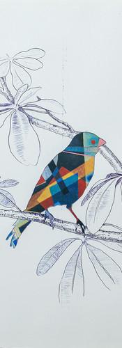 Oiseau Kandinsky (D'après In Blue - 1925)